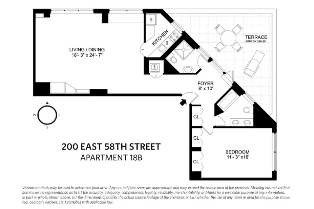 200 East 58th Street, Apt 18B, Sutton Place, New York