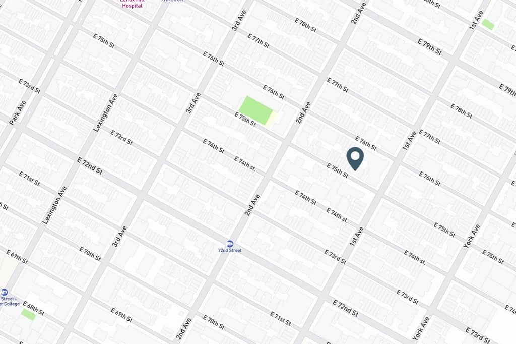 Samuel Realty Group | 333 East 75th Street, Apt 5D, Lenox Hill, NY 10021 Map