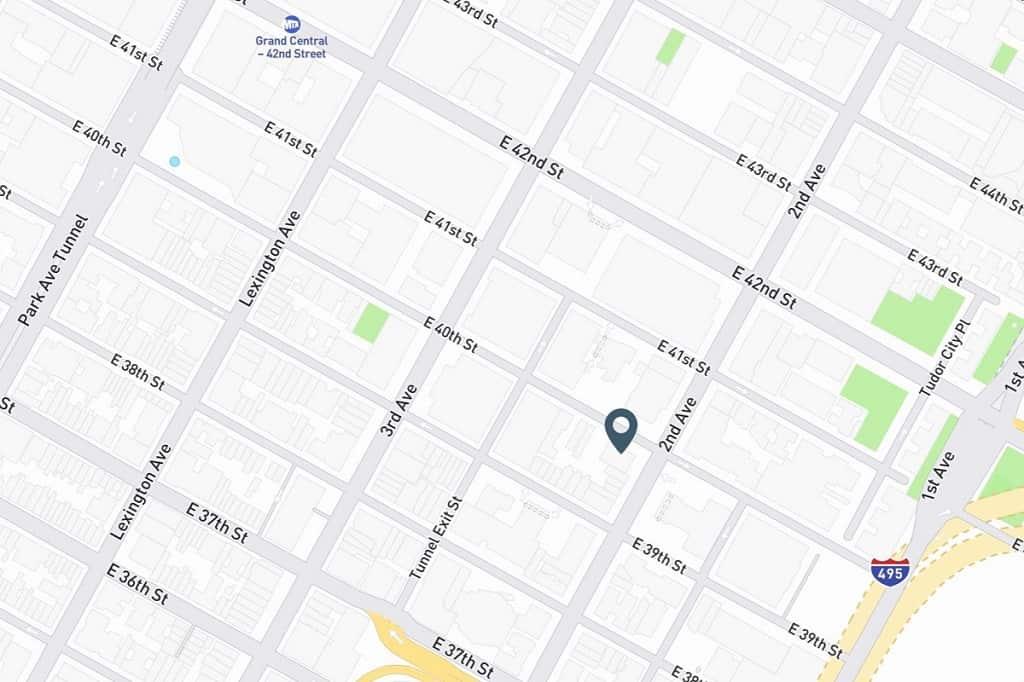 Samuel Realty Group | 250 East 40th Street, Apt 8C, Murray Hill, NY 10016 Map