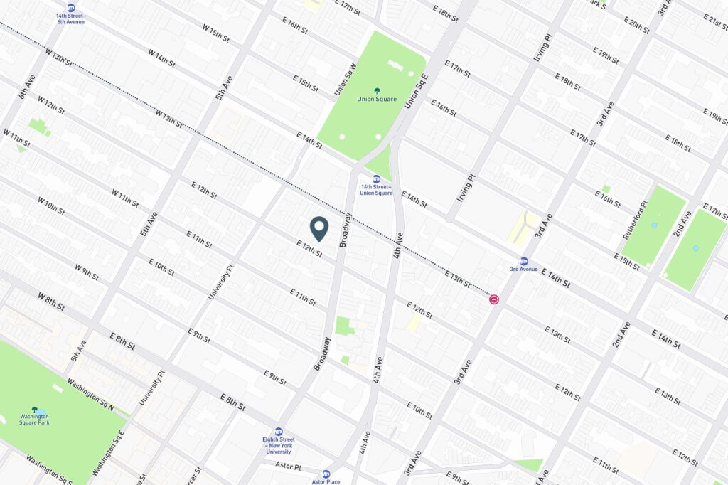 Samuel Realty Group | 49 East 12th Street, Apt 4E, Greenwich Village, NY 10003 Map