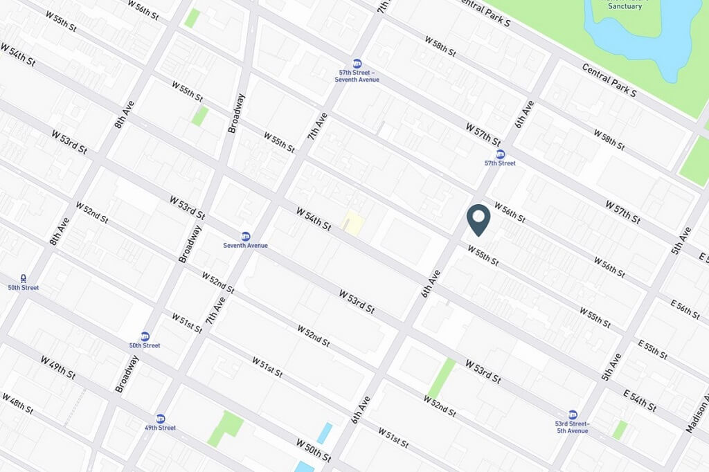 Samuel Realty Group | 77 West 55th Street, Apt 7C, Midtown West, NY 10019 Map