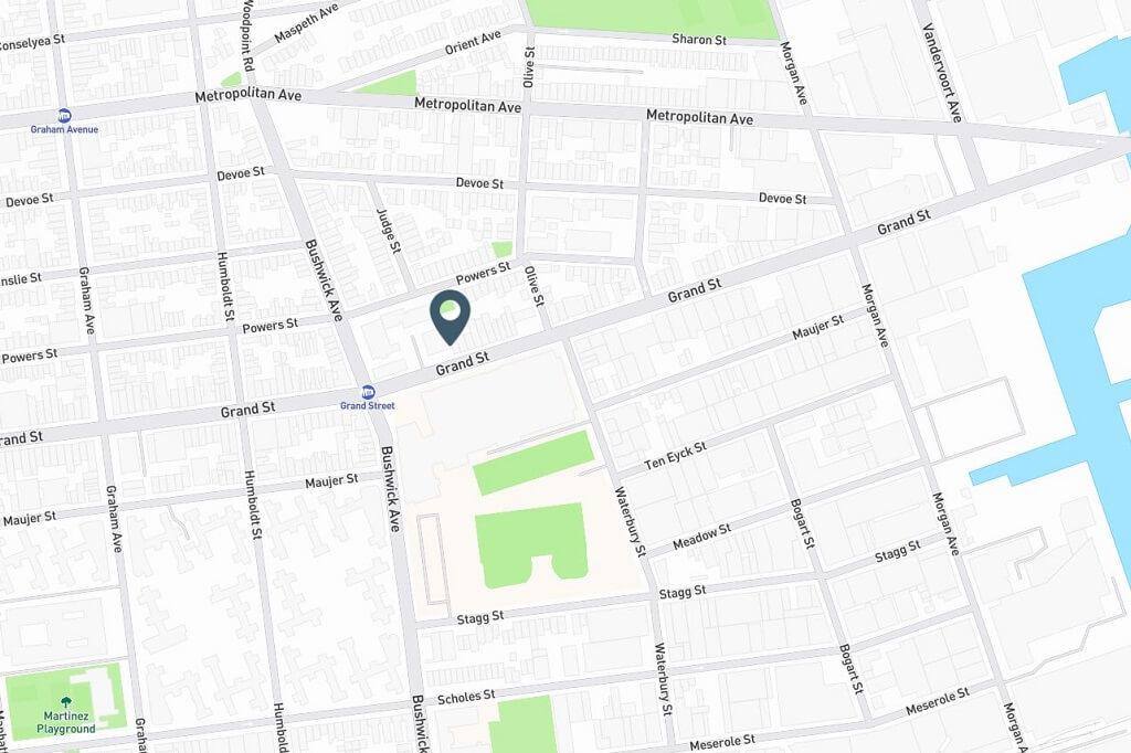 Samuel Realty Group | 855 Grand Street, Brooklyn, NY 11211 Map