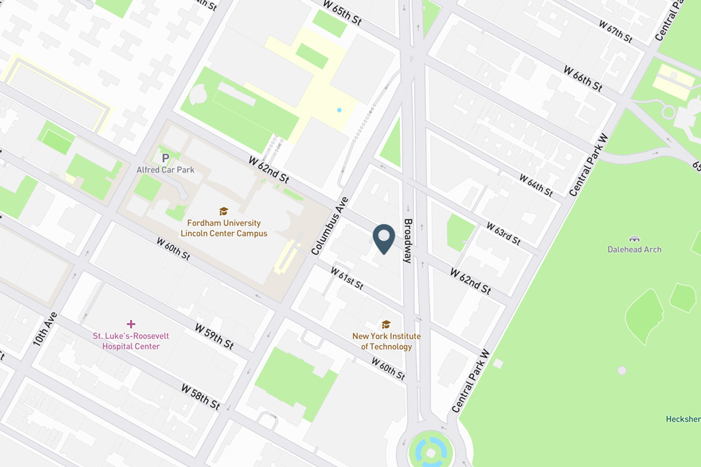 Samuel Realty Group | 62 West 62nd Street, Apt 12C, Lincoln Square, NY 10023 Map