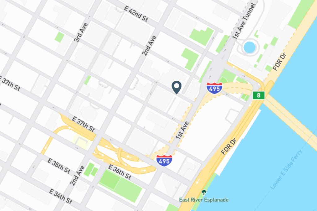 Samuel Realty Group   2 Tudor City Place, Apt 15EN Map