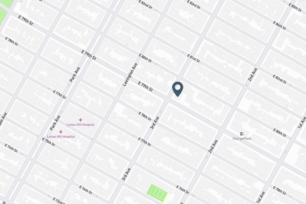 Samuel Realty Group | 201 East 79th Street, Apt 12F, New York, NY Map
