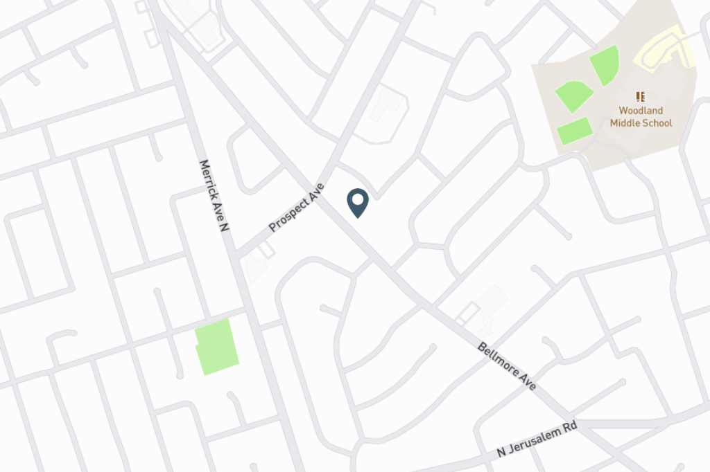 Samuel Realty Group | 649 Bellmore Avenue, East Meadow Map