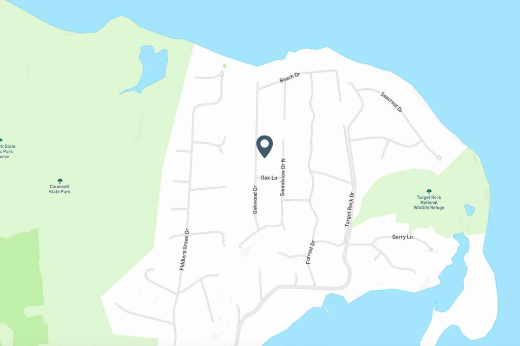 Samuel Realty Group | 10 Oakwood Drive Map
