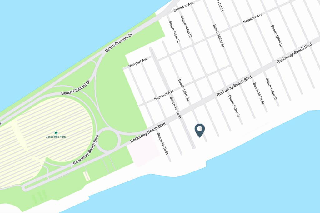 Samuel Realty Group | 151 Beach 146th Street Map