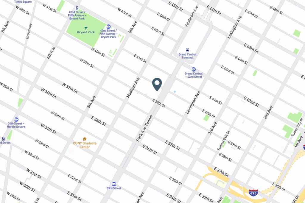 Samuel Realty Group | 80 Park Avenue, Apt 4C Map