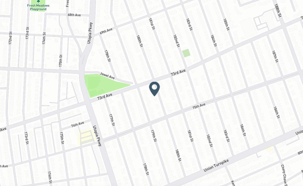 Samuel Realty Group | 73-14 180th Street, Fresh Meadows, NY 11366 Map